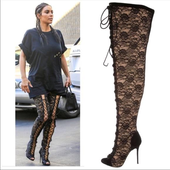 70 % OFF💕GIUSEPPE ZANOTTI black lace up boots 1653a189767c